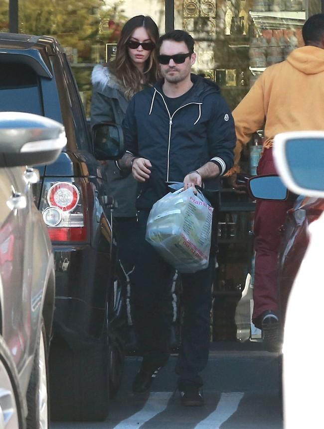 Megan Fox et Brian Austin Green à Studio City le 6 décembre 2013