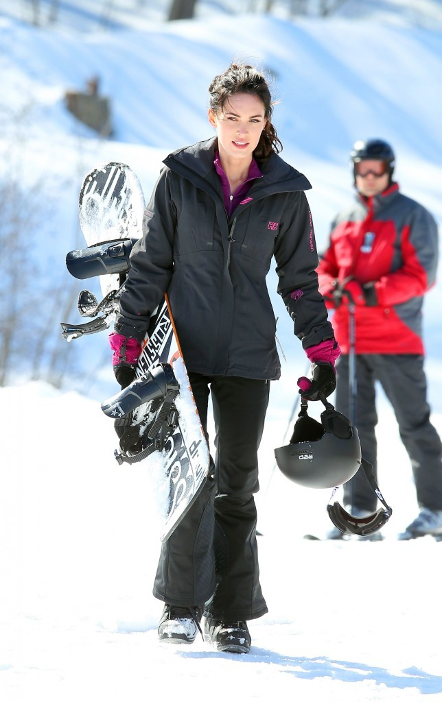 Son partenaire de ski n'a qu'une hâte: briser la glace !