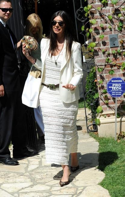 Brittny Gastineau à la baby shower de Kim Kardashian à Los Angeles, le 2 juin 2013.