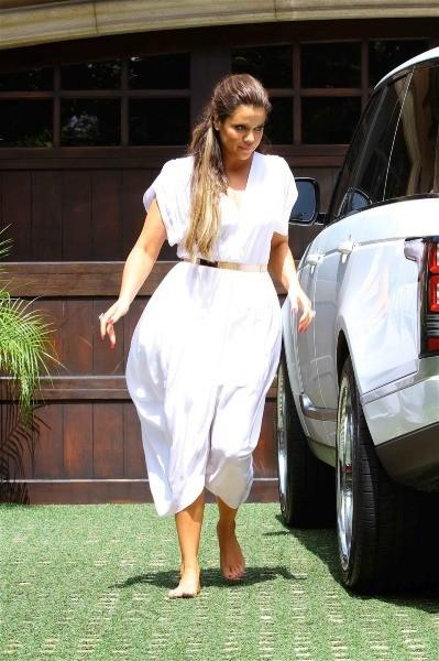 Khloe Kardashian à la baby shower de Kim Kardashian à Los Angeles, le 2 juin 2013.