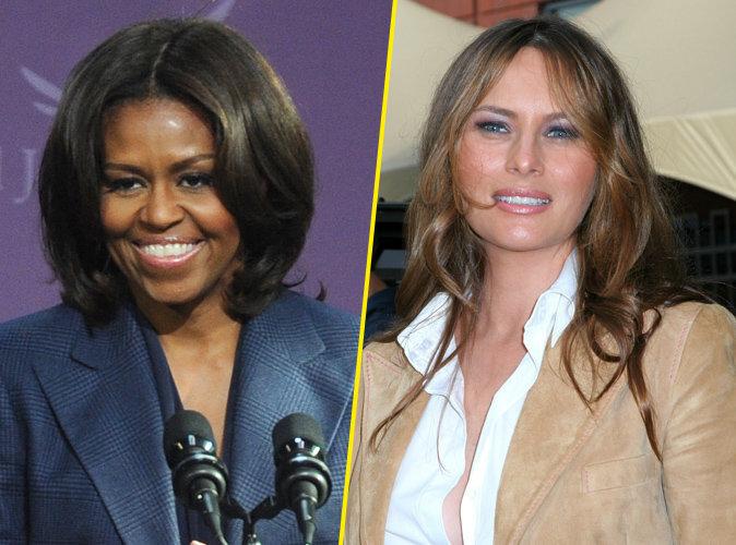 Photos : Melania Trump plagie Michelle Obama ! Les stars, en colère, s'en mêlent !