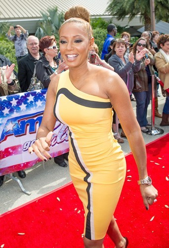 Melanie Brown en pleine audition de America's Got Talent à La Nouvelle Orléans