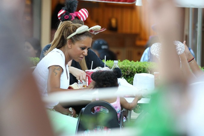 Melanie Brown le 20 juillet 2012 à Disneyland, Californie