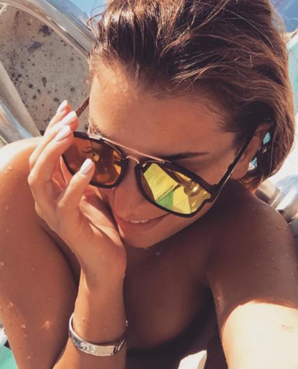 Mélanie Da Cruz en vacances avec Anthony Martial