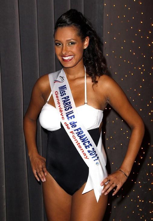 Mélanie Gillot, élue hier soir Miss Paris Ile-de-France
