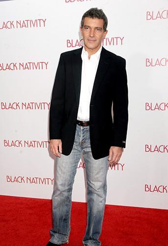 Antonio Banderas à New-York le 18 novembre 2013