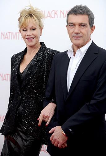 Melanie Griffith et Antonio Banderas à New-York le 18 novembre 2013
