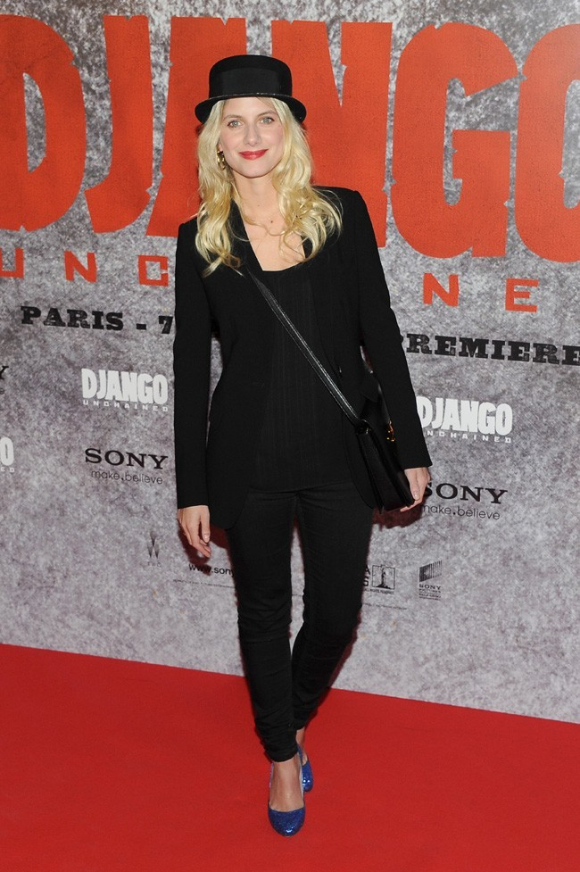 Mélanie Laurent le 7 janvier 2013 à Paris