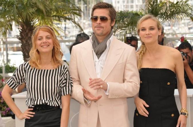 En 2009, elle tutoie les stars internationales comme Brad Pitt et Diane Kruger !