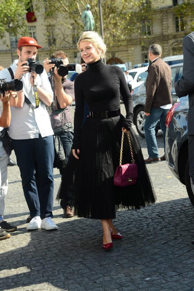 Mélanie Laurent le 28 septembre 2012 à Paris