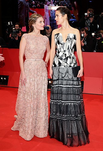 Mélanie Laurent et Jennifer Connelly à Berlin le 12 février 2014