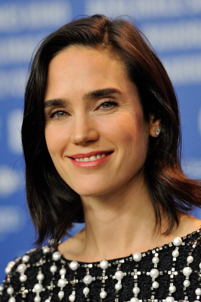 "Jennifer Connelly lors du photocall du film ""Aloft"" à Berlin, le 12 février 2014."