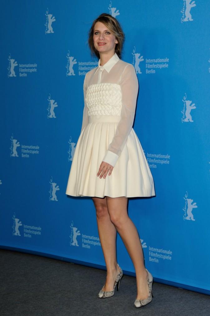 Mélanie Laurent : toute pimpante pour prendre part à la 64e Berlinale...