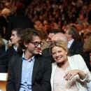 Mélanie Thierry et Raphaël à Lyon le 14 octobre 2013