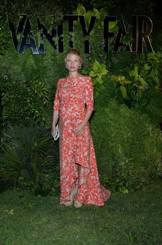 Mélanie Thierry lors de la soirée Vanity Fair à Venise, le 2 septembre 2013.