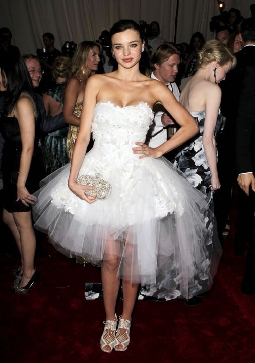 Une robe tout droit sortie de Black Swan...
