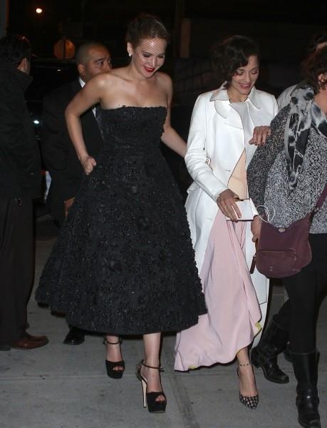 Les deux égéries Dior assistent ensemble à l'événement