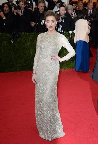 Amber Heard à New York le 5 mai 2014