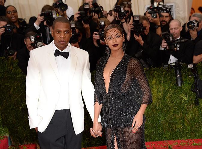 Jay-Z et Beyoncé à New York le 5 mai 2014