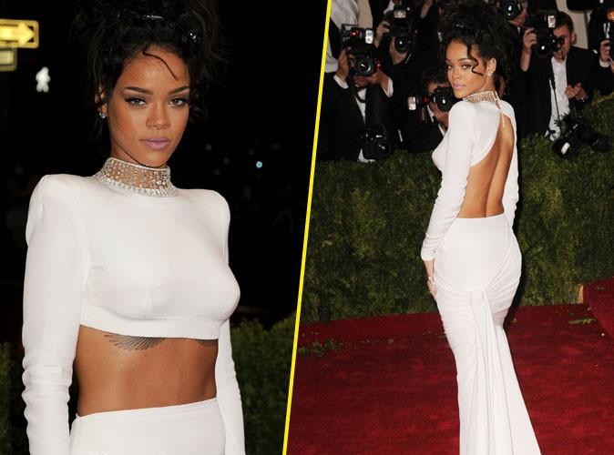 MET Ball 2014 : Rihanna : beauté renversante de face comme de dos !