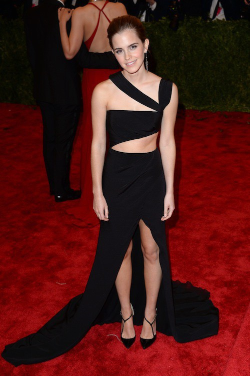 Emma Watson lors du Met Ball de 2013