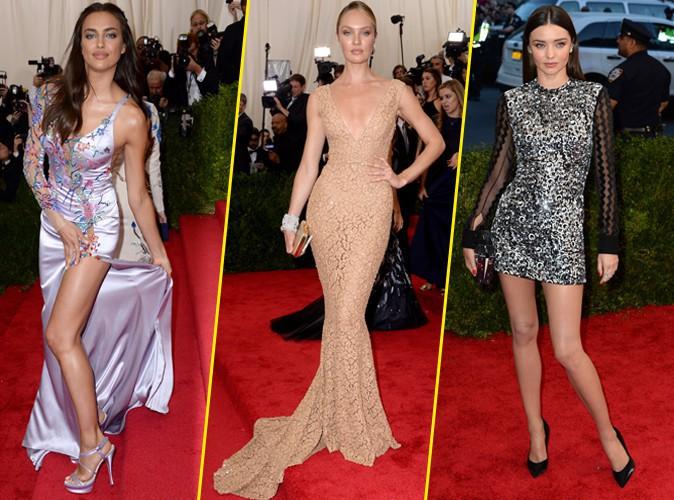Photos : Met Gala 2015 : Irina Shayk, Candice Swanepoel, Miranda Kerr... Les reines du podium font sensation !