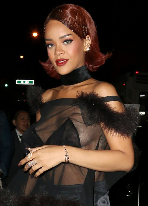 Rihanna à New-York le 4 mai 2015