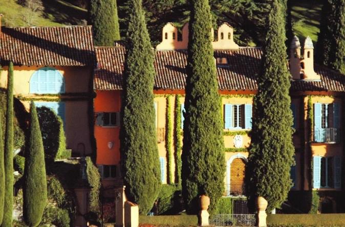 La Villa Cassinella, résidence de Michael Schumacher's à Lenno en Suisse !