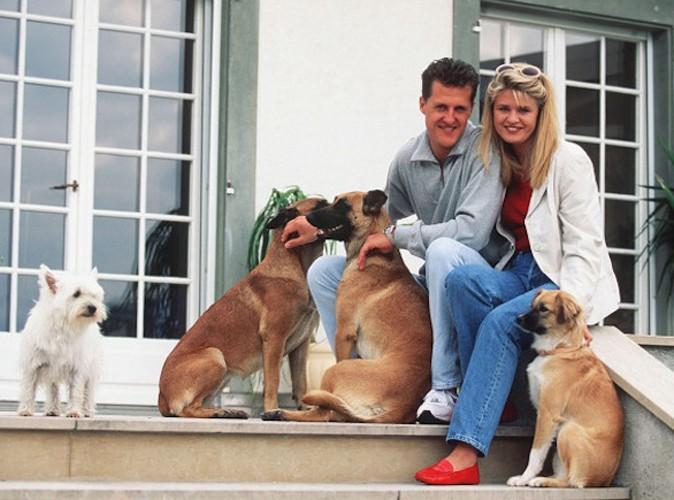 Michael Schumacher et son épouse Corinna partagent la même passion pour les animaux !