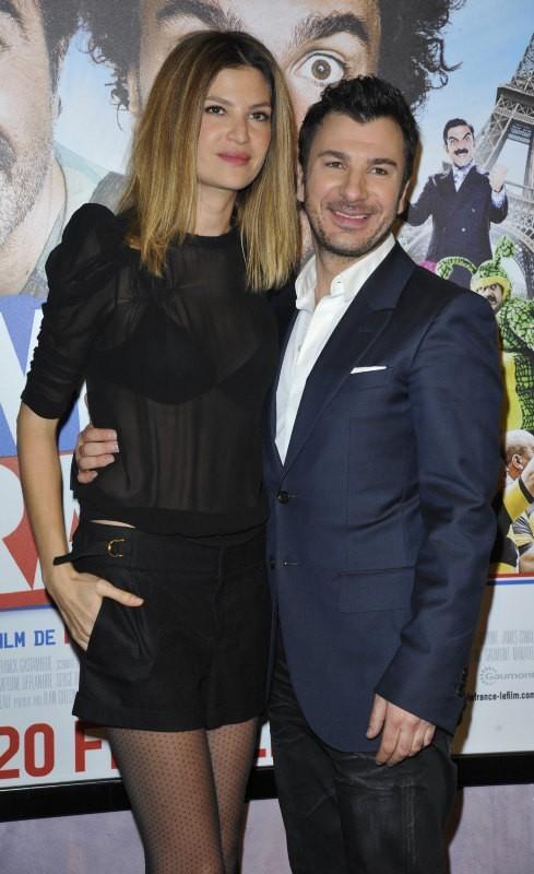 Michaël Youn et Isabelle Funaro le 19 février 2013 à Paris