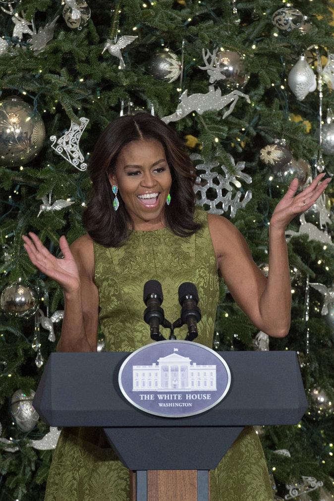 Malia et Sasha, les filles Obama, pouffent de rire