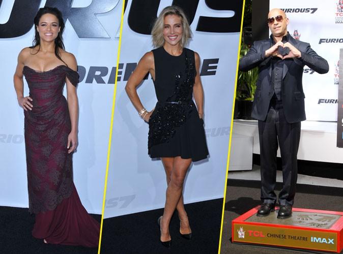 Photos : Michelle Rodrguez et Elsa Pataky canons pour Furious 7, Vin Diesel honoré !
