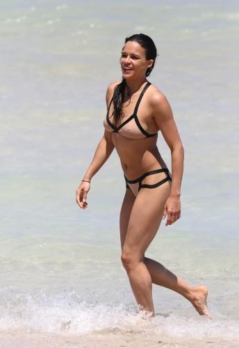 Michelle Rodriguez, Miami, 26 avril 2013.