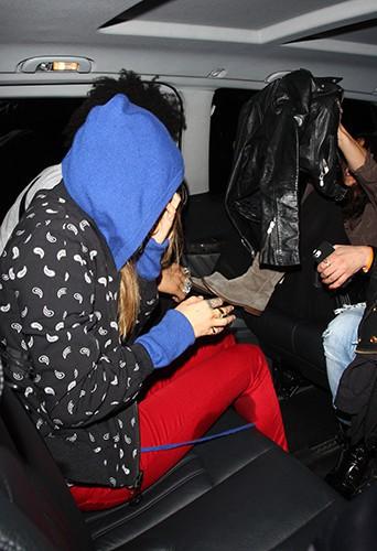 Cara Delevingne et Michelle Rodriguez à Londres le 6 mars 2014