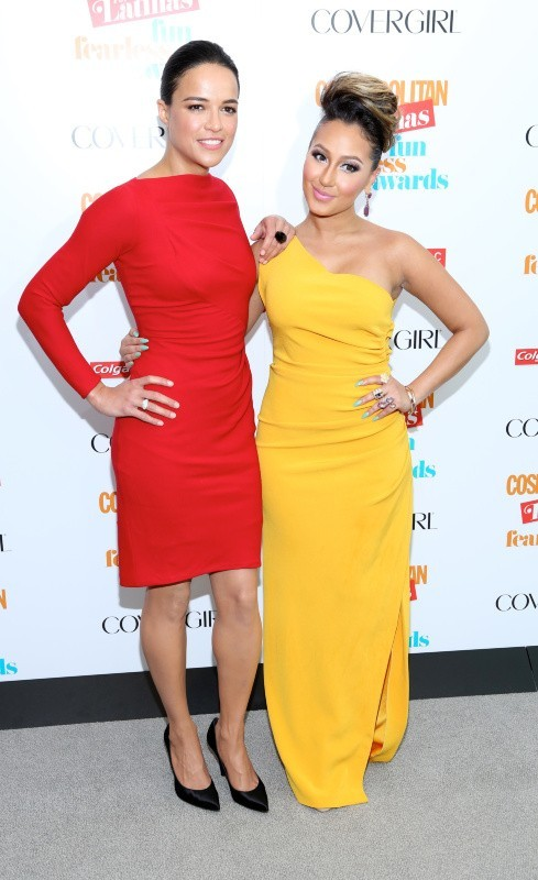 Michelle Rodriguez et Adrienne Bailon aux Fun Fearless Latina Awards