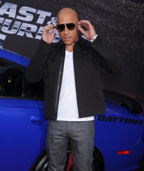 Vin Diesel se la joue bad boy à la première de Fast and Furious 6