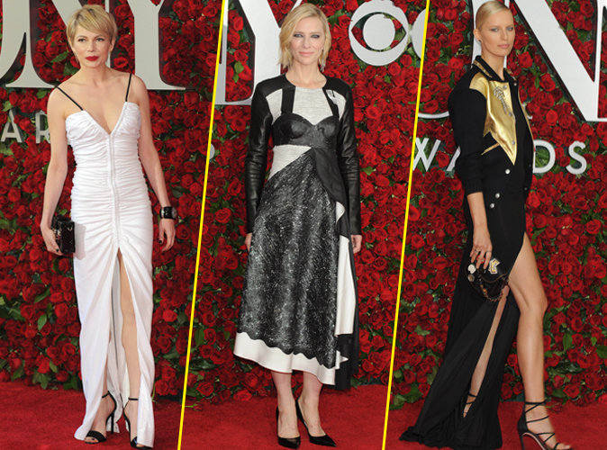 Michelle Williams, Cate Blanchett, Karolina Kurkova... des bombes blondes aux Tony Awards !