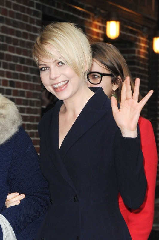 Michelle Williams le 19 février 2013 à New York