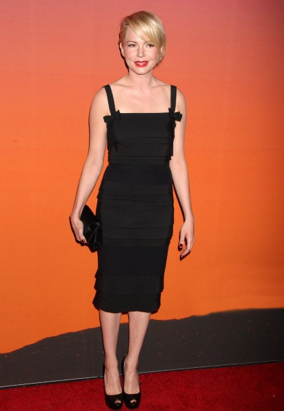 "Michelle Williams lors de la ""Whitney Museum of American Art Gala & Studio Party"" à New York, le 23 octobre 2013."