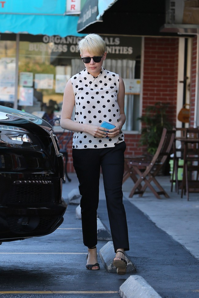Michelle Williams le 27 août 2012 à Los Angeles