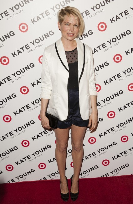 Michelle Williams lors du lancement de la nouvelle collection de Kate Young pour Target à  New York, le 9 avril 2013.
