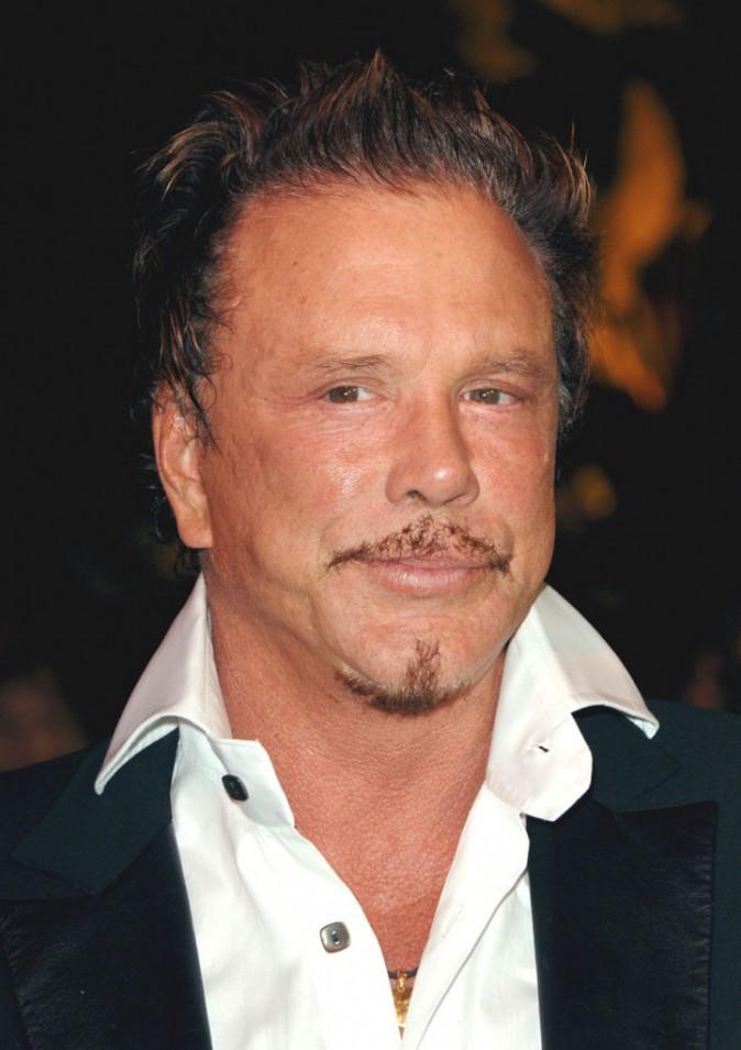 Mickey Rourke en mars 2006