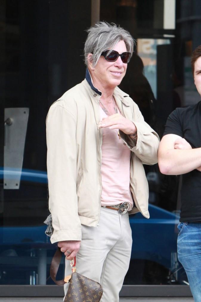 Mickey Rourke le 9 mai 2015