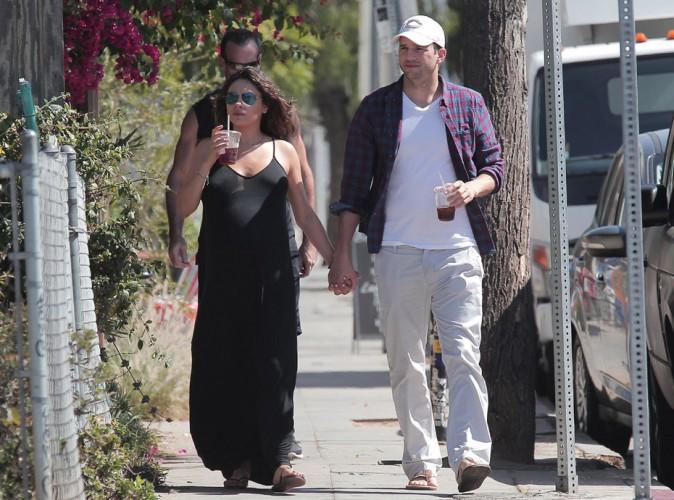 Photos : Mila Kunis : accouchement en attente, arrivée du bébé imminente !