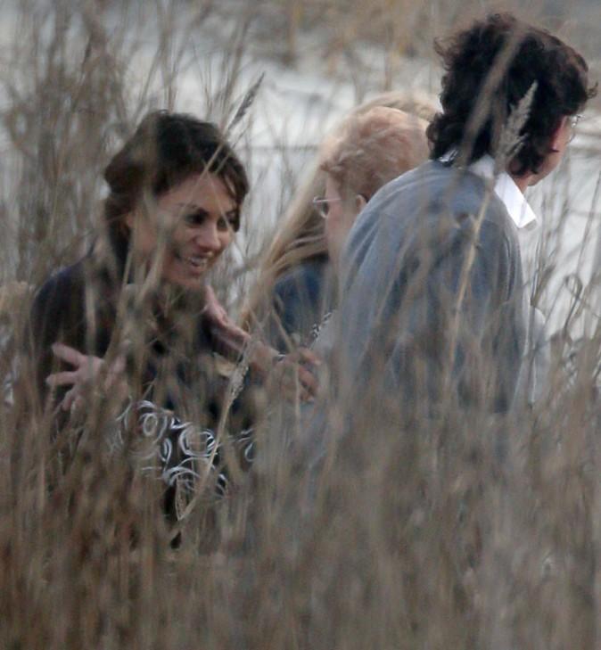 Mila Kunis au mariage du frère jumeau d'Ashton Kutcher organisé à Saint Simon Island, le 1er février 2014