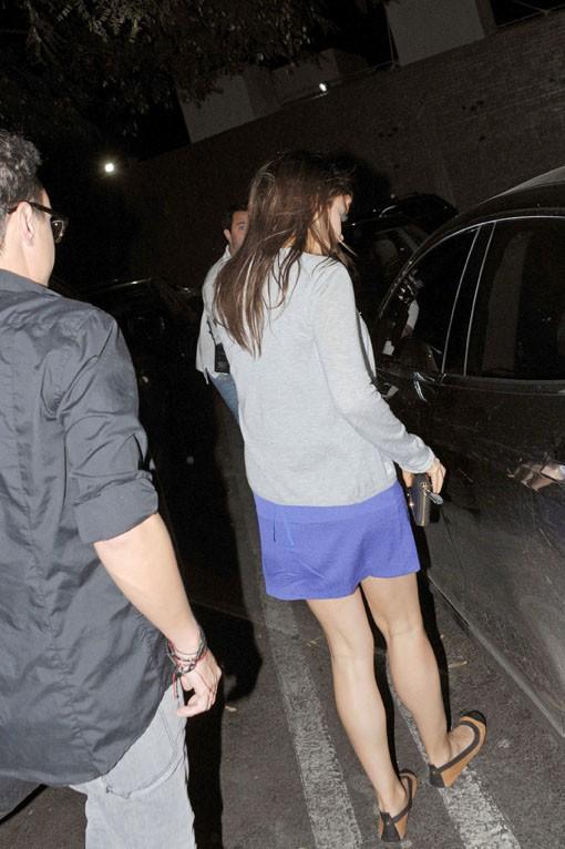 Mila Kunis à Los Angeles le 8 mars 2014