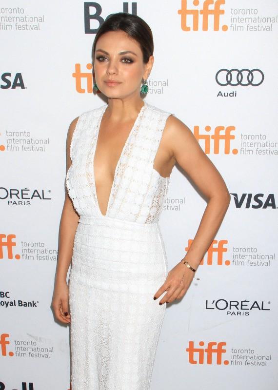 Mila Kunis lors du Festival International du Film de Toronto, le 9 septembre 2013.