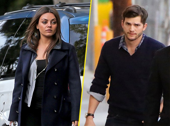 Mila Kunis et Ashton Kutcher à Los Angeles