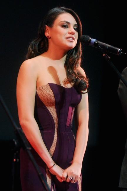 Mila Kunis le 27 février 2013 à Moscou