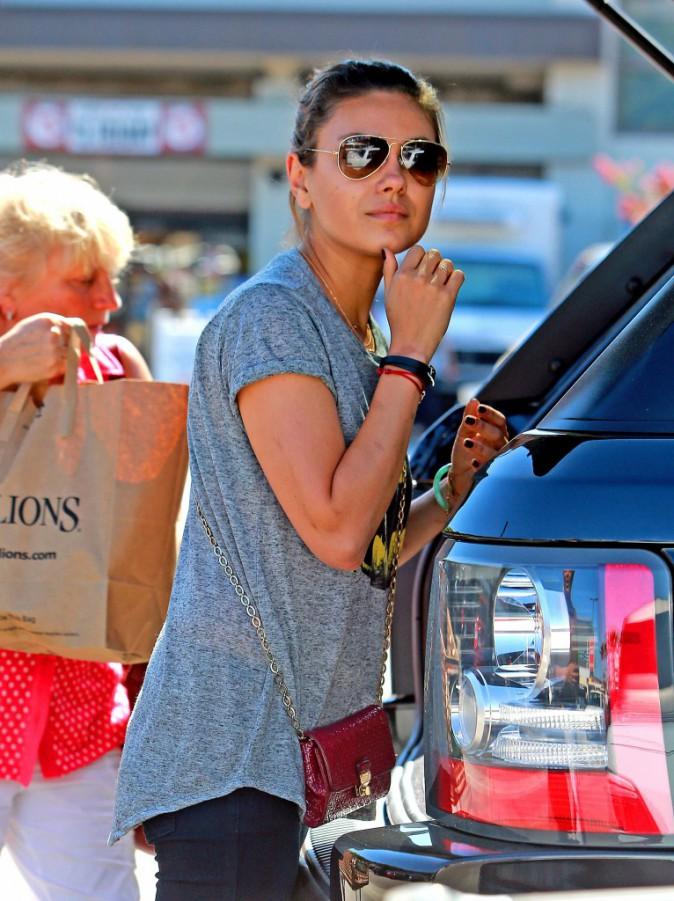 Mila Kunis à West Hollywood, le 3 septembre 2013